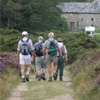 Walkers enjoying a ramble